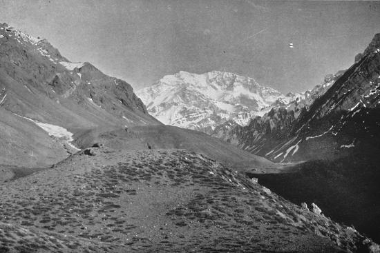 'Aconcagua, Near The Road From Santiago to Mendoza', 1911-Unknown-Photographic Print