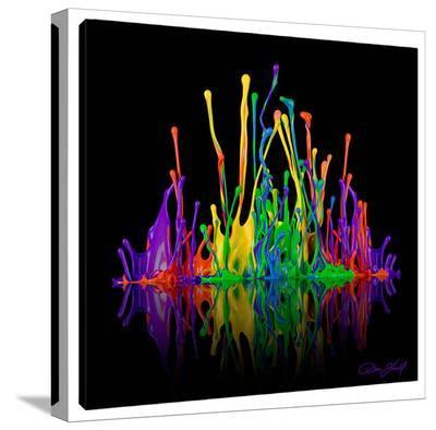 Acoustic Revelation-Don Farrall-Stretched Canvas Print