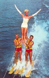 Acrobatic Water Skiing, Retro