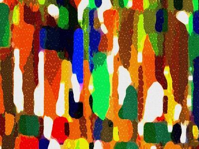 Across A Crowded Room-Ruth Palmer-Art Print