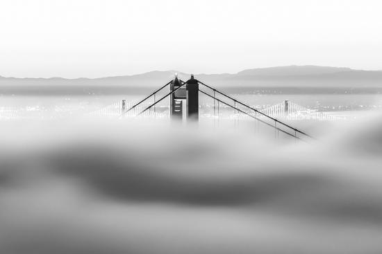 Across the Bay BW-Dave Gordon-Wall Mural