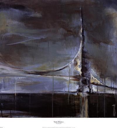Across the Bay-Terri Burris-Art Print