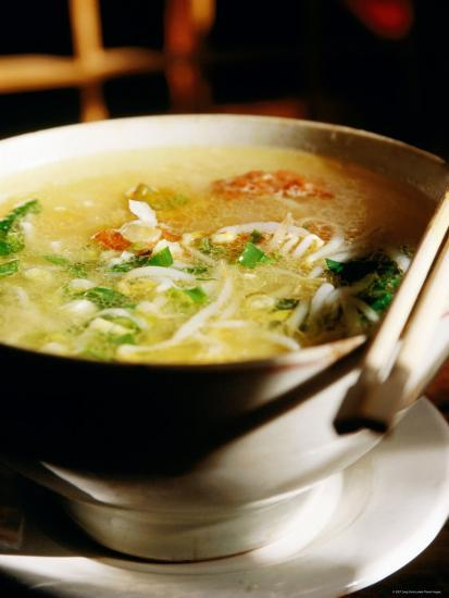 Across the Bridge Noodles at Brothers Jiang Restaurant, Kunming, Yunnan, China-Greg Elms-Photographic Print