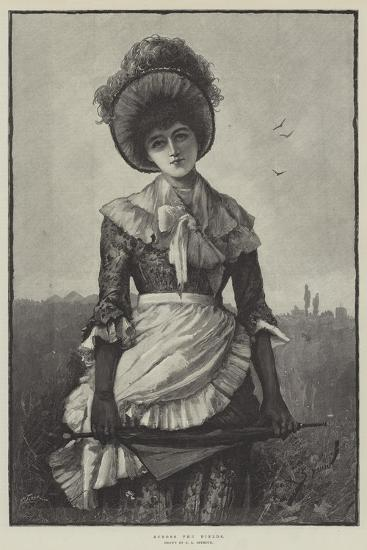 Across the Fields-George L. Seymour-Giclee Print