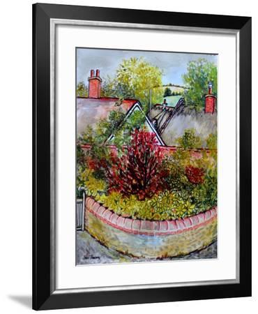 Across the Rooftops,From Cynthia's Studio, 2010-Joan Thewsey-Framed Giclee Print