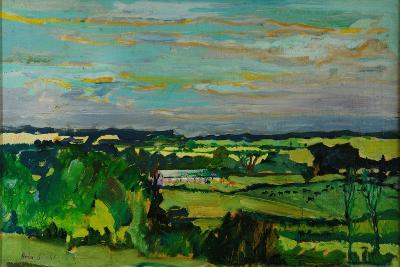 Across the Valley, Bedfordshire, 1973-Brenda Brin Booker-Giclee Print