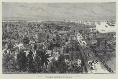 Across Two Oceans, Georgetown, Demerara, Sketched from the Lighthouse-Melton Prior-Giclee Print