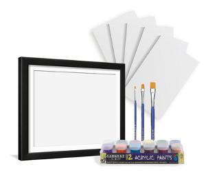 Acrylic Paint Kit and Frame