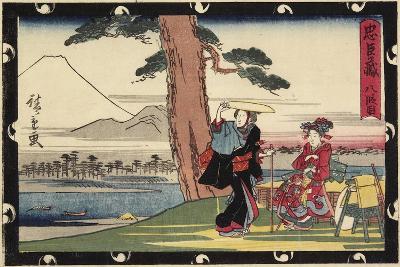 Act 8, Early 19th Century-Utagawa Hiroshige-Giclee Print