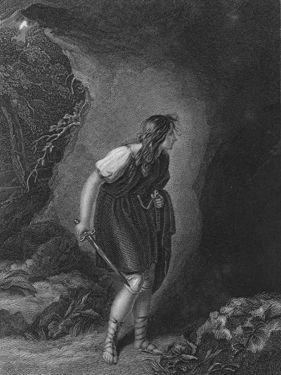 Act III Scene vi from Cymbeline, c19th century--Giclee Print