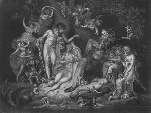 Act IV Scene i from A Midsummer Nights Dream, c19th century