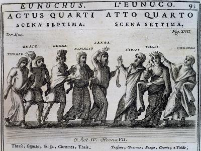 Act Iv, Scene VII from Eunuchus--Giclee Print