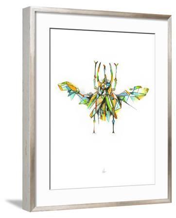 Actaeon Beetle-Alexis Marcou-Framed Art Print