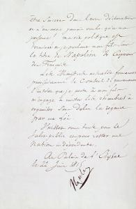 Acte d'abdication de Napoléon, 22 juin 1815