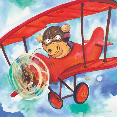 Action Bear-Scott Nelson-Art Print