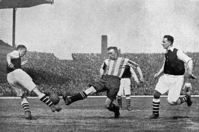 Action from an Arsenal V Sheffield United Football Match, C1927-1937--Giclee Print