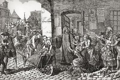 Activities of the Society for the Reformation of Manners Whose Aims Were the Suppression of Profani--Giclee Print