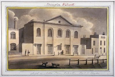 Acton Place Chapel, Southwark, London, 1825-G Yates-Giclee Print