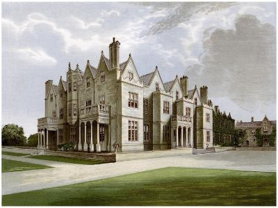 Acton Reynald Hall, Shropshire, Home of Baronet Corbet, C1880-AF Lydon-Giclee Print