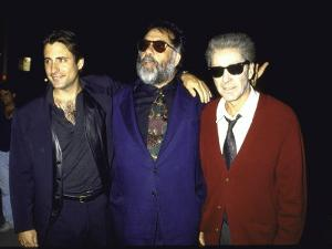 """Actor Andy Garcia, Director Francis Ford Coppola and Actor Al Pacino at Premiere of """"Godfather 3"""""""
