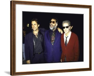 "Actor Andy Garcia, Director Francis Ford Coppola and Actor Al Pacino at Premiere of ""Godfather 3"""