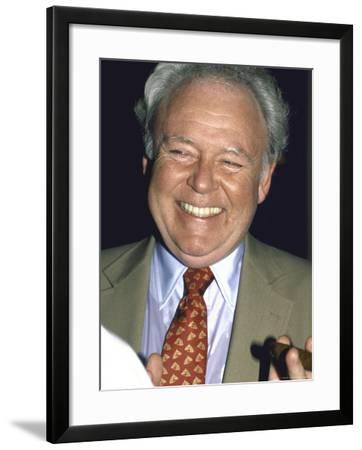 Actor Carroll O'Connor-David Mcgough-Framed Premium Photographic Print