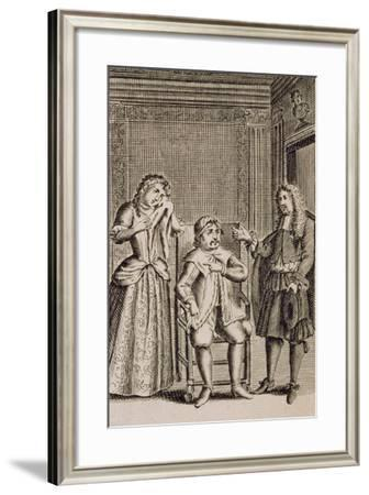 Actor Jean-Baptiste Poquelin--Framed Giclee Print