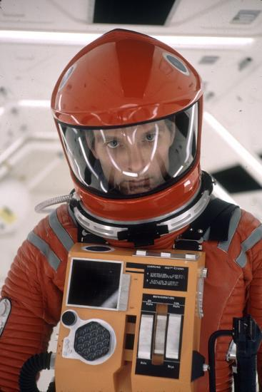 """Actor Keir Dullea in Space Suit in Scene from Motion Picture """"2001: a Space Odyssey."""", 1968-Dmitri Kessel-Photographic Print"""
