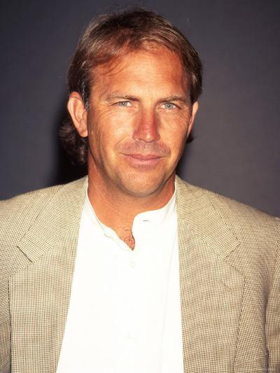 """Actor Kevin Costner at Film Premiere of His """"Tin Cup""""-Dave Allocca-Premium Photographic Print"""