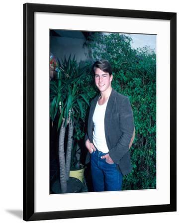 Actor Tom Cruise-David Mcgough-Framed Premium Photographic Print