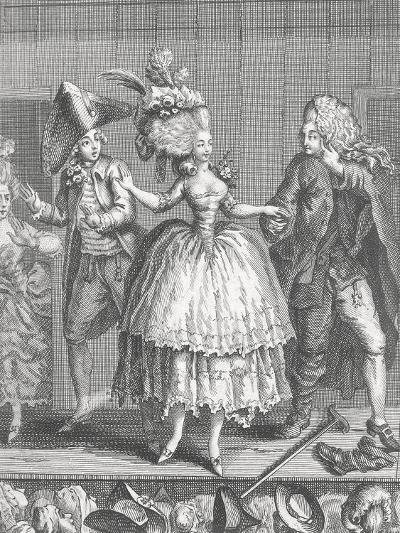 Actors at Apron Stage at End of Performance at Comedie-Francaise--Giclee Print