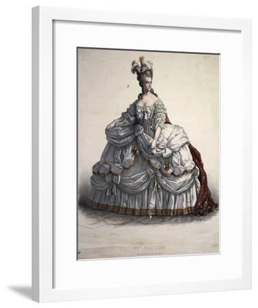 Actress Adelaide Ristori--Framed Giclee Print