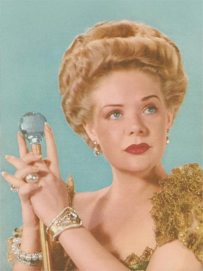 Actress as Queen--Art Print