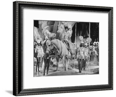 """Actress Lucille Ball Performing in a Scene from the Movie """"The Ziegfeld Follies""""--Framed Premium Photographic Print"""