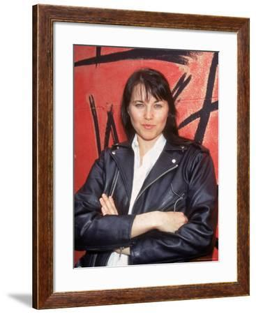 Actress Lucy Lawless-Dave Allocca-Framed Premium Photographic Print