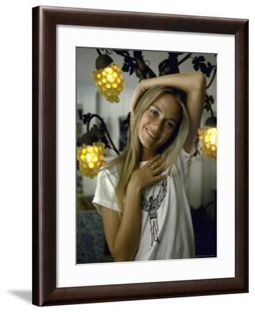 Actress Peggy Lipton-Vernon Merritt III-Framed Premium Photographic Print