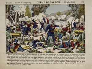 Actualité. Guerre du Tong-King. Combat de Nam-Dinh. 19 juillet 1883