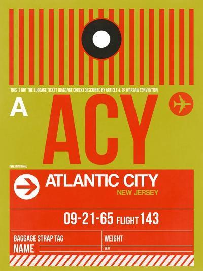 ACY Atlantic City Luggage Tag I-NaxArt-Art Print