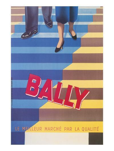 Ad for Bally Shoes, Staircase--Art Print