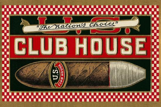 Ad for Club House Cigar--Giclee Print