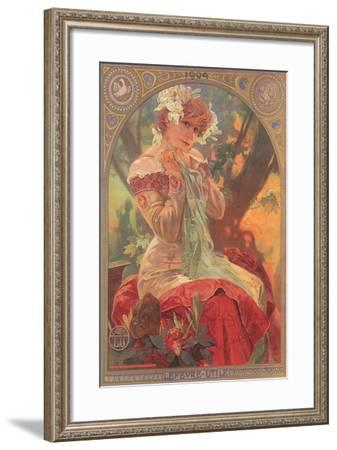 Ad for French Cookies--Framed Art Print