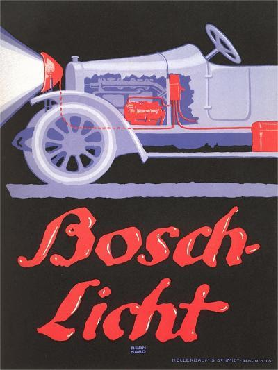 Ad for German Automotive Electrics--Art Print