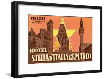 Ad for Hotel in Florence