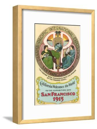 Ad for International Exposition, San Francisco, California