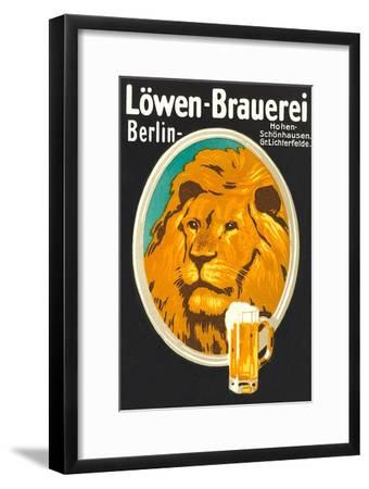Ad for Lowen Beer