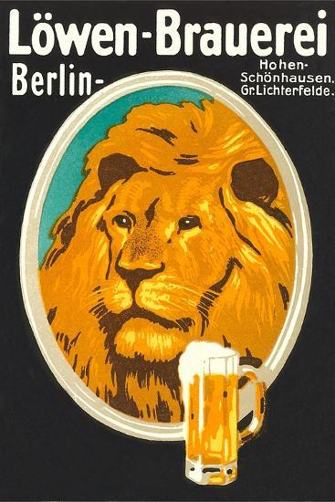 Ad for Lowen Beer--Art Print