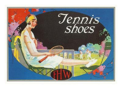 Ad for Tennis Shoes--Art Print
