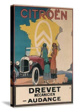 Ad for Twenties Citroen