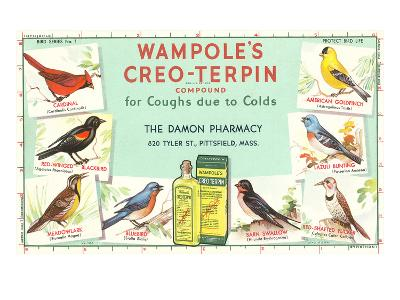 Ad for Wampole's Cough Medicine--Art Print