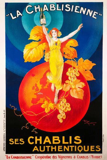 Ad-Vintage Lavoie-Giclee Print